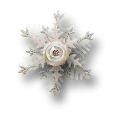 """Photo from album """"Chilli Winter"""" on Yandex. Pearl Earrings, Xmas, Glitter, Brooch, Album, Polyvore, Beautiful, Jewelry, Christmas Flowers"""