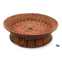 Africa | Basket from Nigeria. 1st half of the 20th century