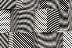 Black Stripes. Jesús Rafael Soto was a Venezuelan op and kinetic artist, a sculptor and a painter. He was born in Ciudad Bolívar, Venezuela