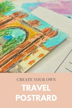Draw Your, Create Your Own, Online Art Courses, Painting Classes, Watercolor Paper, Travel Inspiration, Finding Yourself, Things To Come, Pastel