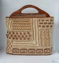 This doesn't link to anything but I have pinned it as a gorgeous inspiration for a knitted bag. S