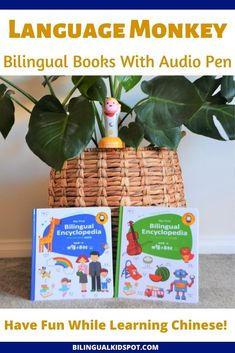 Bilingual Books that Talk! English Hello English, Kids English, Learn English, Teaching Kids, Kids Learning, Cantonese Language, Connecting Words, Learning A Second Language, Types Of Books