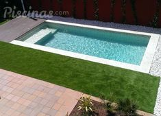 Ejecuciones 2014 Garden Swimming Pool, Small Swimming Pools, Small Backyard Pools, Backyard Pool Designs, Small Pools, My Pool, Swimming Pool Designs, Pool Landscaping, Pond Tubs