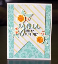 CREATED by Leigh Penner. INSPIRED by our Summer Card Camp 2 class. http://onlinecardclasses.com/summercardcamp2/