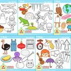 This is a cute collection of phonics-themed clipart for short and long vowels. $6.00 in savings when you buy the bundle!  Includes the following im...