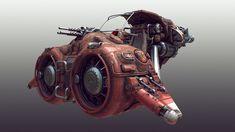 Scifi speeder by Tor Frick