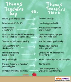 parent teach conference funny - Yahoo Image Search Results