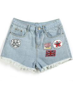 Summer project... I'd like to get some old mom jeans, cut 'em up, and find some cool patches.