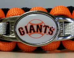 San Francisco Giants Paracord Bracelet - Free Shipping