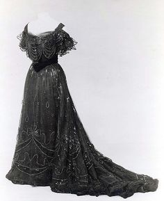 Evening Dress  Jean-Philippe Worth, 1906-1908  The Metropolitan Museum of Art
