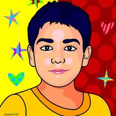 Retrato, portrait, Pablin
