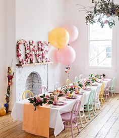 Read your copy FREE yay! Gorgeous little Rosie's birthday garden party is featured 💕💕💕 📷 by 1 Year Old Birthday Party, Girl First Birthday, First Birthday Parties, Birthday Party Themes, First Birthdays, 1yr Old Birthday Ideas, Birthday Balloons, Flamingo Party, Festa Party
