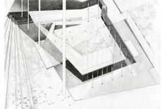 pond street house design (in collaboration with aldo urbinati) graphite on paper. 42x59 cm. 2011