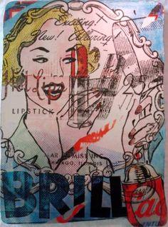 """Torn Posters: Brillo"" Saatchi Art, Original Paintings, Princess Zelda, Posters, Fictional Characters, Poster, Fantasy Characters, Billboard"