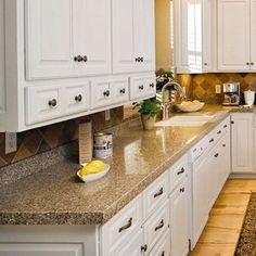Basement With Exposed Brick Copper Countertops Mirrored Backsplash Wine Rack And Wet Bar