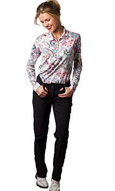Amazon New, Paisley Print, Lady, Polo, Clothes, Women, Style, Fashion, Sun