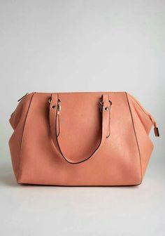 Peach colored bag !!