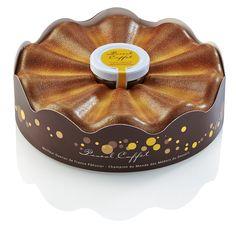 La couronne des rois de Pascal Caffet, un délicieux gâteau à la frangipane avec de la pâte à tartiner en son centre