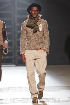 Michael Bastian Menswear Fall Winter 2013 New York - NOWFASHION