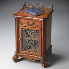 Chairside Chest - Heritage - 4096070. Chairside Chest - Heritage - 4096070 When youre looking for elegance and functionality to fill a nook, look no further than this Chairside Chest. Small in scale and big in function and style, it offers a handy tabletop space.. . See More Chests at http://www.ourgreatshop.com/Chests-C698.aspx