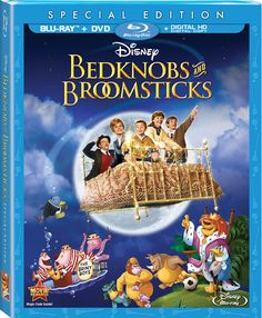 Bring home a Disney classic and grab Bedknobs and Broomsticks while you can!