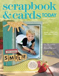2010 - Summer - past scrapbook and cards magazine