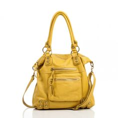 Cool Yellow Purse. Treat Mom to a new purse for Mother's Day!