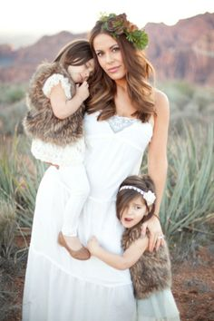 Amie Pendle Photography_0056 mother daughter portrait, desert fashion, succulents white dress sunset southern Utah