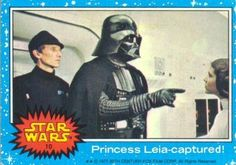 Topps Star Wars Trading Cards - Series 1 - 1977