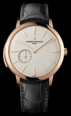 Vacheron Constantin Patrimony Contemporaine Ultra-Thin Calibre 1731, the world's thinnest minute repeater