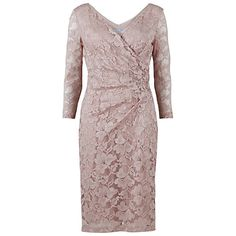 735bcdbeb8a4b4 Buy Gina Bacconi Stretch Lace Sequin Dress, Champagne Online at  johnlewis.com Sparkly Cocktail