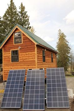 SolMan Classic Powering Tiny Home in Washington