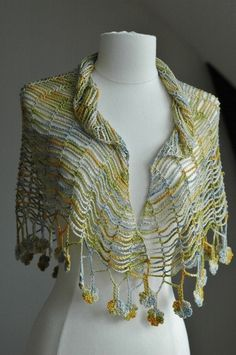 love this shawl crochet from kristin omdahl but would prefer different colours