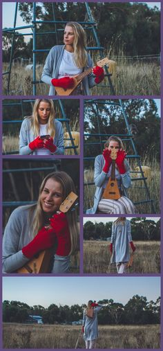 Gloves you can play music in! Crochet them yourself!