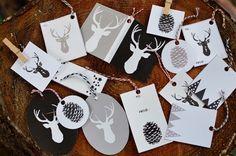 Free Modern Gift Tag Printables