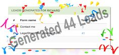 10 leads a month?, nahhhh we generated 44  #congratulation #LegalShield associate Richard unlimited lead generation https://salesexpert.me/legalshield.php