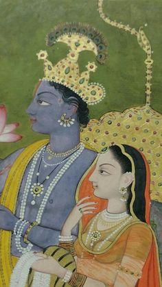 Paramchaintanya Men — A Nainsukh masterpiece in Philadelphia: The Poet...