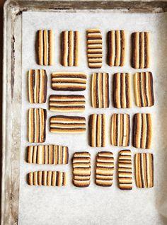 Biscuits trois saveurs Recettes   Ricardo