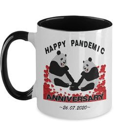 Personalized Happy Pandemic Wedding Anniversary Mug Lockdown | Etsy Anniversary Dates, Wedding Anniversary Gifts, Best Quality T Shirts, Best Deals Online, Student Gifts, Dating Quotes, Tea Mugs, Personalized Wedding, To My Daughter