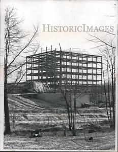 Details about 1960 Press Photo Steel construction of new Parma Ohio Hospital