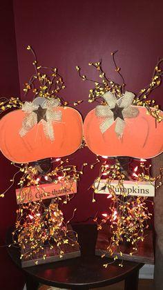 Primitive Pumpkins   Crafts   Pinterest