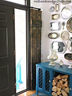 {This is a sponsored post for CeCe Caldwell's Paints and don't miss the *giveaway at the bottom of this post.} Shut the front door. I can't believe it, but we now have front door DIY Sidelight Wood Shutters (all for under $75)! For years I've been wanting to add a sliding barn door somewhere in... Read More »