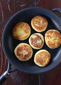 tortini di patate ripieni * potato cakes stuffed with mushrooms #crafond