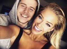 Wives and Girlfriends of NHL players: Nathan Beaulieu & Katie Carpenter Hockey Wife, Wife And Girlfriend, Hockey Players, Carpenter, Girlfriends, Boyfriends, Girls