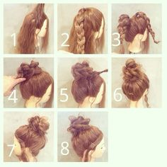Simple and Fast Hairstyles for Everyday , Hairstyles, Work Hairstyles, Everyday Hairstyles, Pretty Hairstyles, Braided Hairstyles, Simple Hairstyles, School Hairstyles, Braided Ponytail, Wedding Hairstyles, Blonde Hairstyles