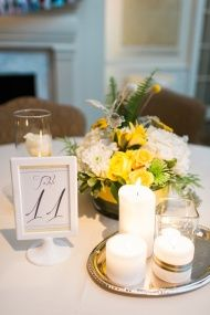Romantic Sunny Hued Wedding With Touches of Gorgeous Gray in North Carolina - Style Me Pretty