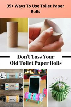Toilet paper is obviously a household staple. But every time you throw away the empty toilet paper roll, you're missing out on some seriously awesome ways to use them.