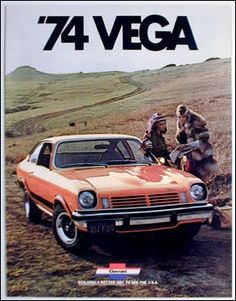 1974 chevrolet vega gt pictures | 1974 Chevrolet Vega Hatchback GT Coupe 16 page color catalog original ...