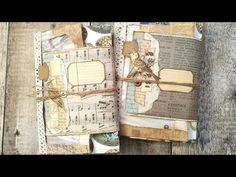 Envelope Journal Tutorial - Part 8 Flip Through - Junk Journal - YouTube