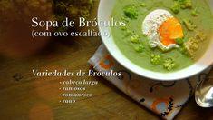 Ingrediente Secreto | Episodios | 4/13 Bróculo | SOPA DE BRÓCOLOS (com ovo escalfado)